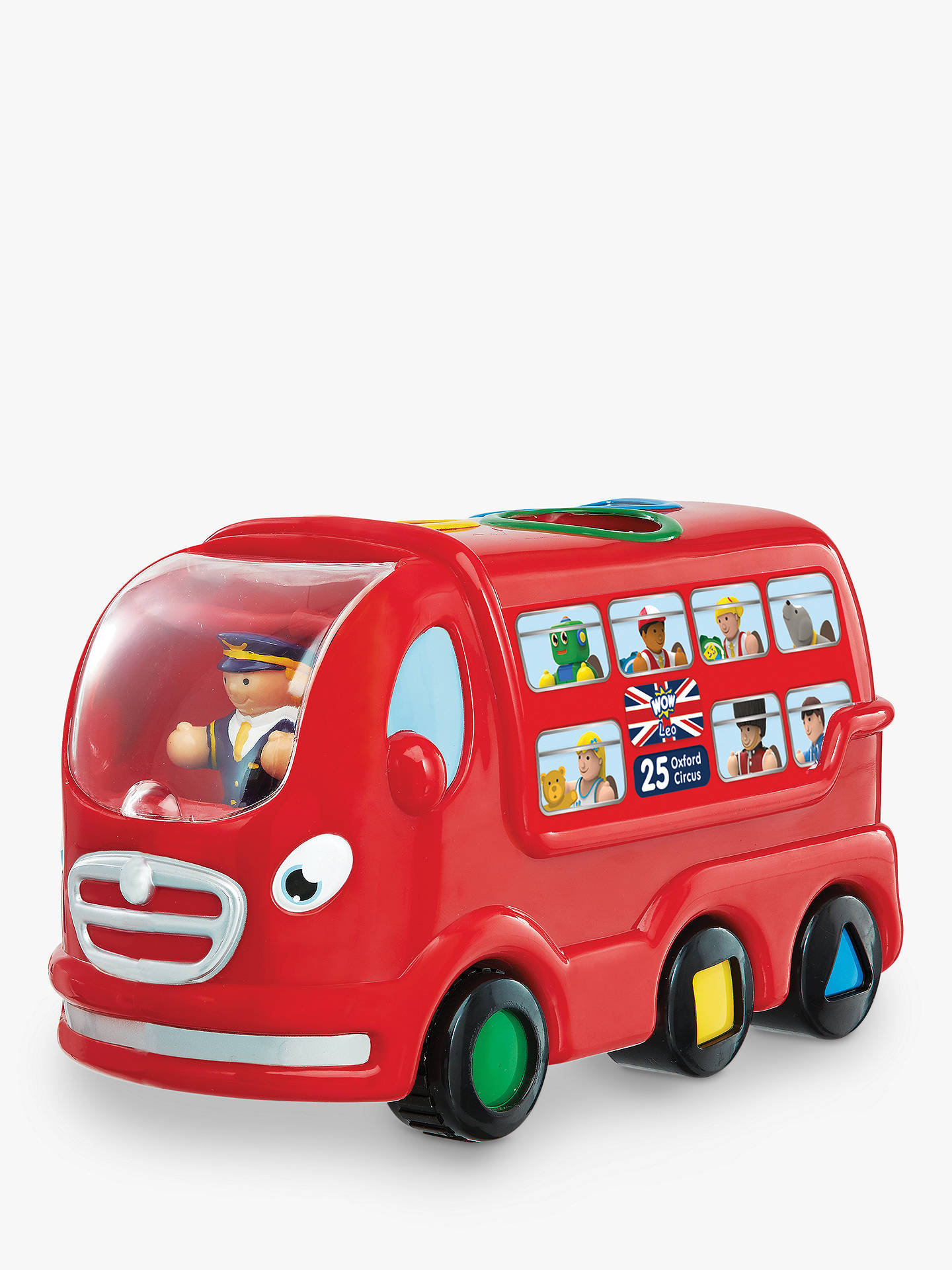 88f2810afe55 BuyWOW Toys London Bus Leo Set Online at johnlewis.com ...