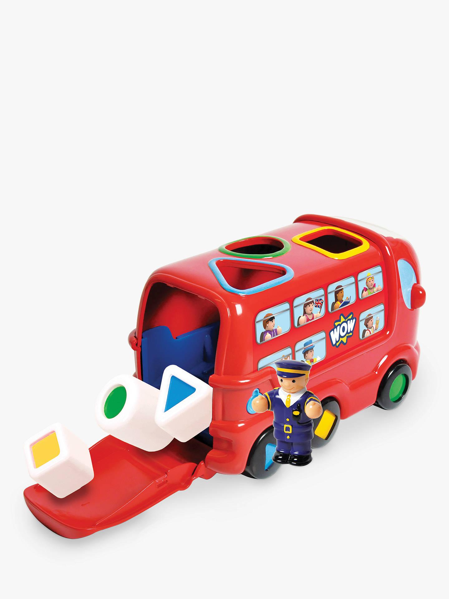 wow toys london bus leo set at john lewis partners