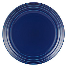 Buy John Lewis 27.5cm Side Plate, Blue Online at johnlewis.com