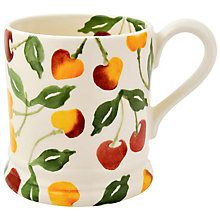 Buy Emma Bridgewater Summer Cherries Half Pint Mug, Multi, 284ml Online at johnlewis.com