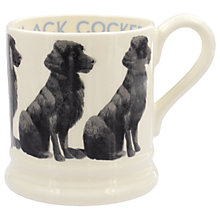 Buy Emma Bridgewater Black Cocker Spaniel Half Pint Mug, Multi, 310ml Online at johnlewis.com