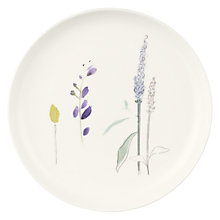 Buy John Lewis Leckford Delphinium 18cm Bone China Plate Online at johnlewis.com