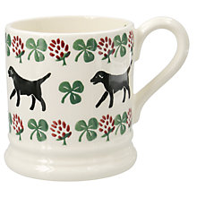 Buy Emma Bridgewater Labrador and Clove Half Pint Mug, Multi, 310ml Online at johnlewis.com