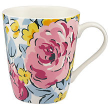 Buy Cath Kidston Sketched Rose Stanley Mug Online at johnlewis.com