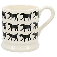 Buy Emma Bridgewater Black Labrador 1/2pt Mug Online at johnlewis.com