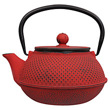 Buy Tokyo Design Studio Arare Teapot, Red Online at johnlewis.com