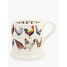 Buy Emma Bridgewater Hen & Toast Half Pint Mug, Multi, 310ml Online at johnlewis.com