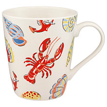 Buy Cath Kidston Lobster and Friends Stanley Mug Online at johnlewis.com