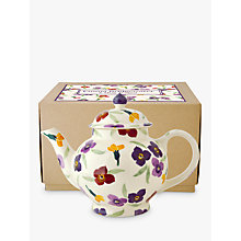 Buy Emma Bridgewater Wallflower 4 Mug Teapot, Multi, 1.2L Online at johnlewis.com