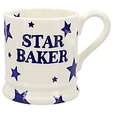 Buy Emma Bridgewater Starry Skies 'Star Baker' Half Pint Mug, Blue/White, 284ml Online at johnlewis.com