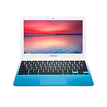 "Buy ASUS Chromebook C201PA, 2GB RAM, 16GB, 11.6"" Online at johnlewis.com"