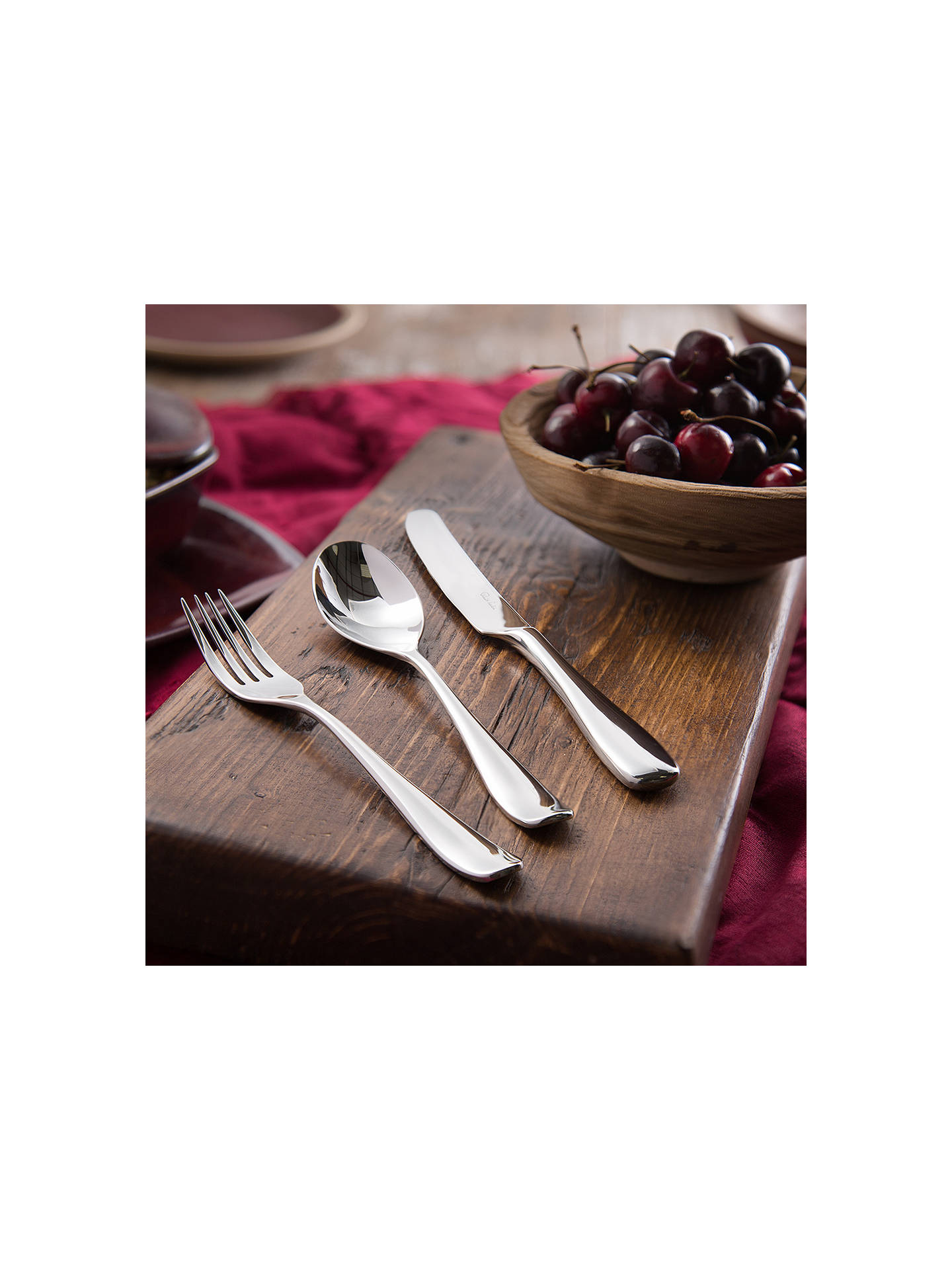 Buy Robert Welch Warwick Place Setting, 7 Piece/1 Place Setting Online at johnlewis.com