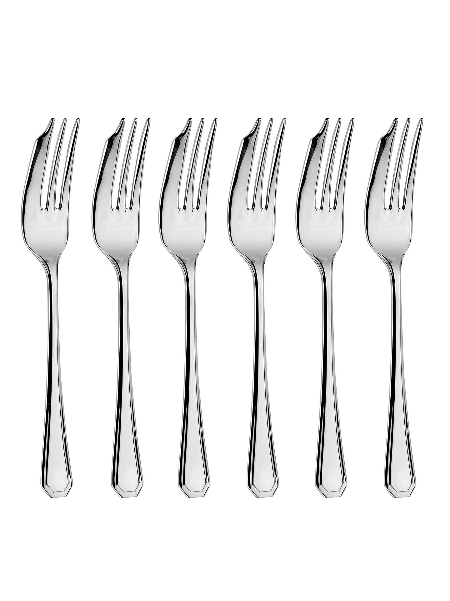 BuyArthur Price Grecian Pastry Forks, Set of 6 Online at johnlewis.com