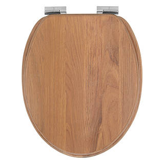 d shaped wooden toilet seat. John Lewis Antibacterial FSC Oak Washed Toilet Seat Seats  Bathroom Accessories