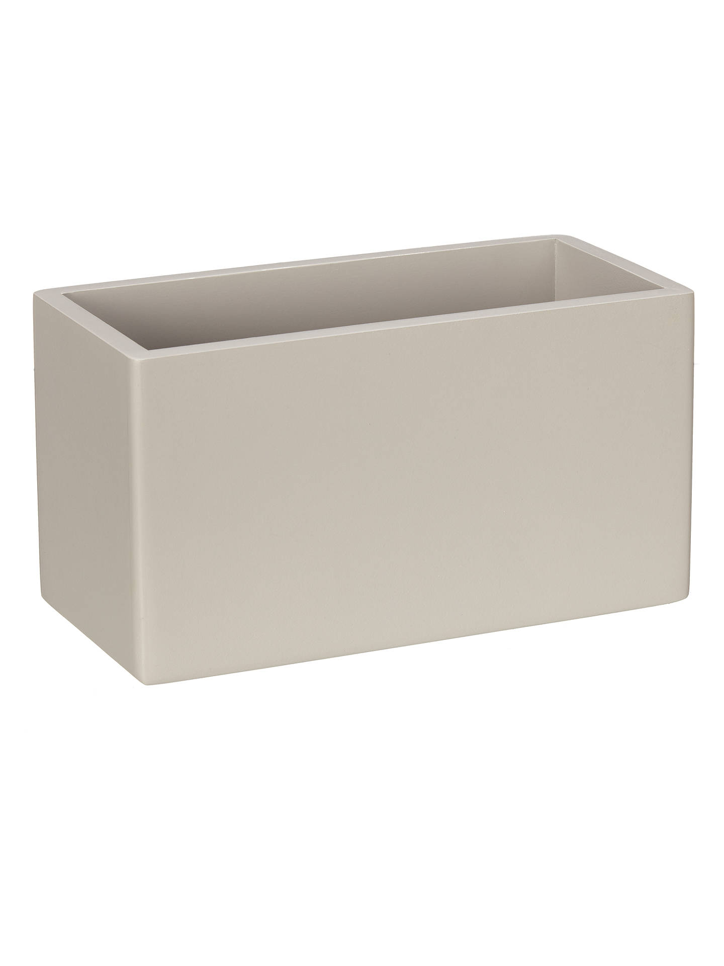 house by john lewis bathroom storage box small grey at. Black Bedroom Furniture Sets. Home Design Ideas