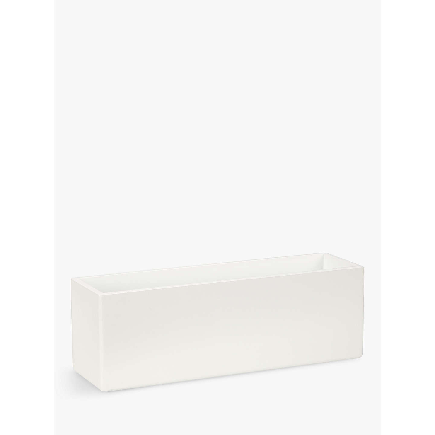 house by john lewis bathroom storage box large white at. Black Bedroom Furniture Sets. Home Design Ideas