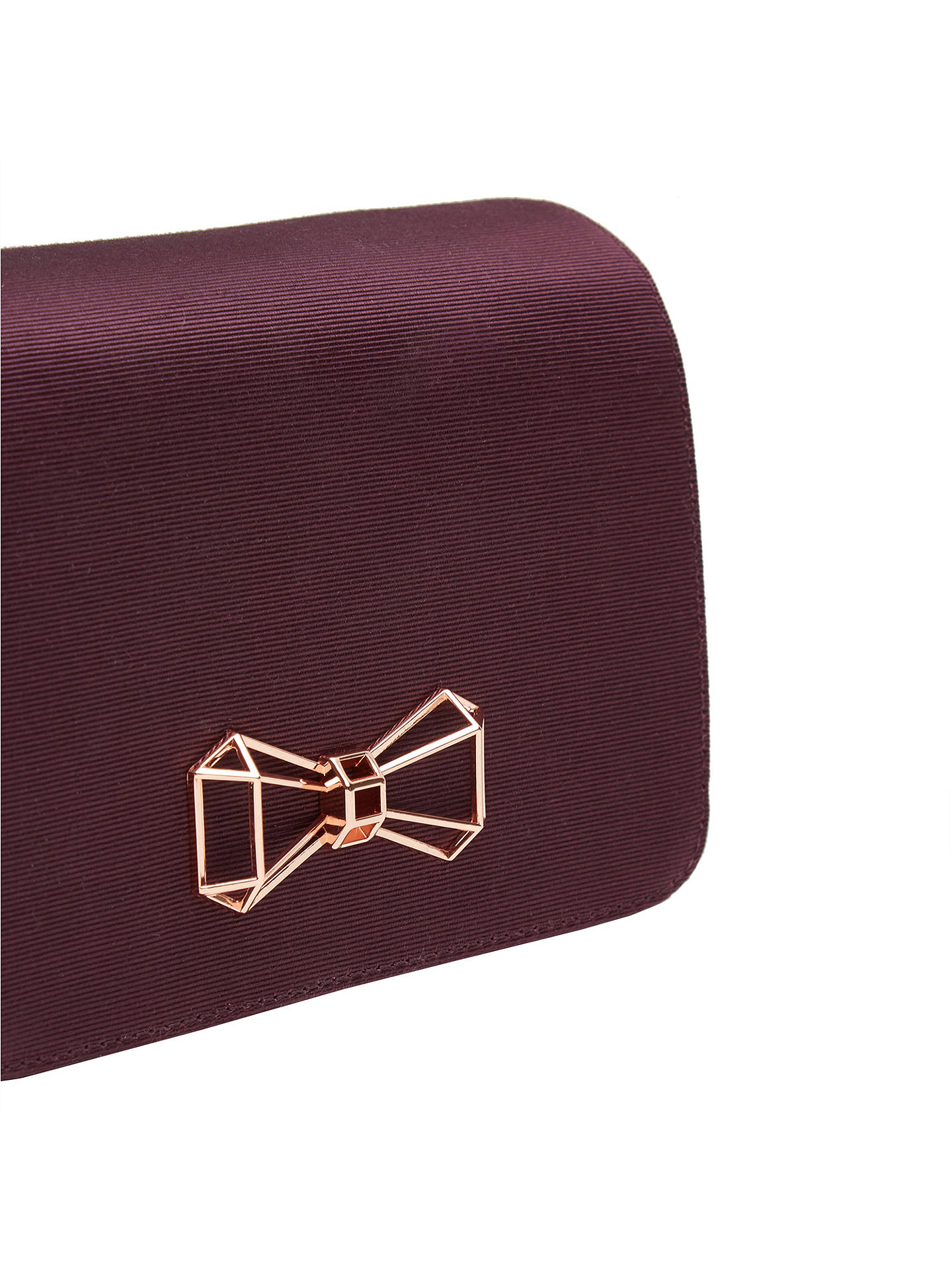 Ted Baker Michala Bow Clutch Bag at John Lewis & Partners