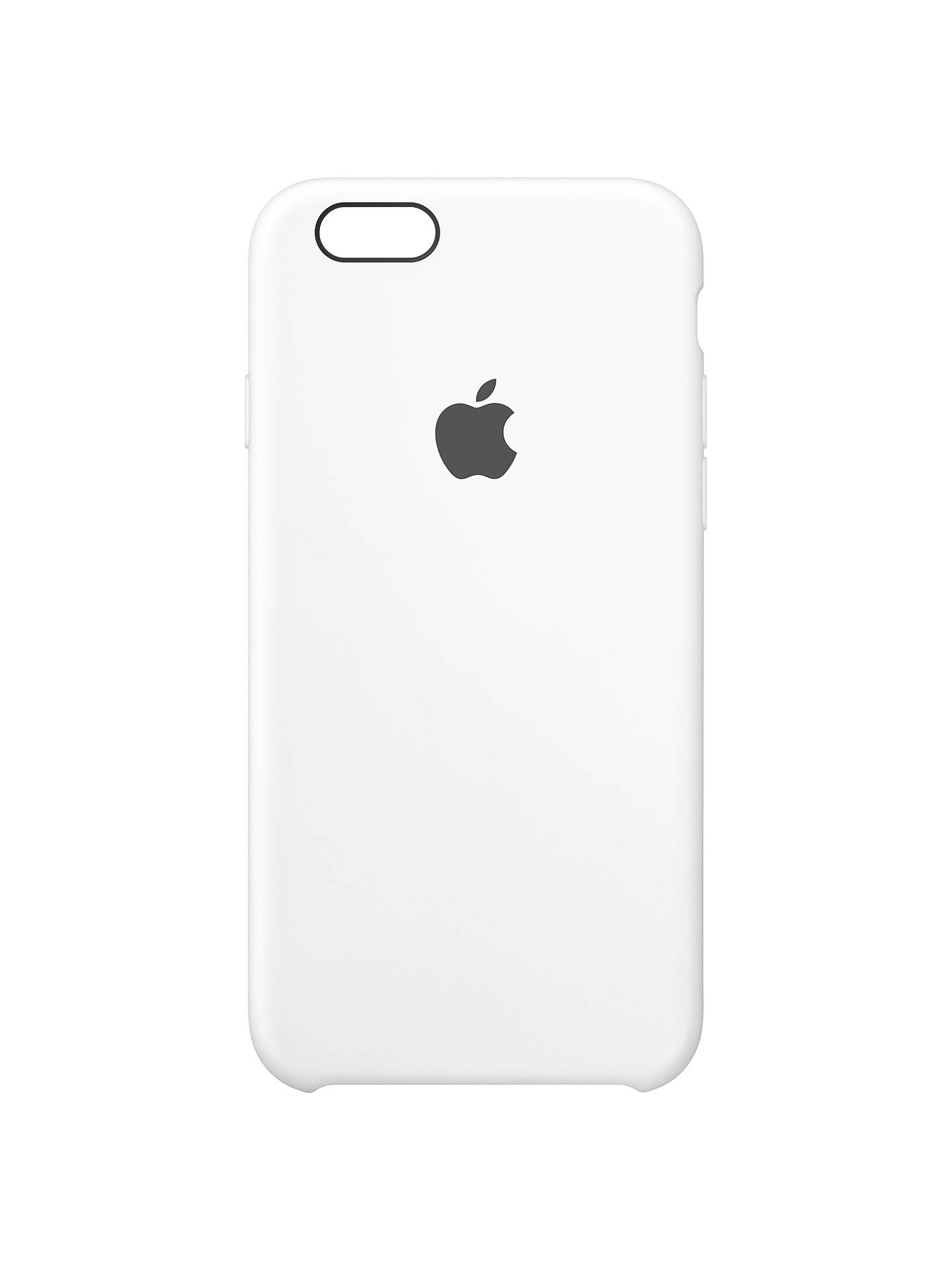 Buy Apple Silicone Case for iPhone 6/6s, White Online at johnlewis.com
