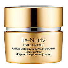 Buy Estée Lauder Re-Nutriv Ultimate Lift Regenerating Youth Eye Creme, 15ml Online at johnlewis.com