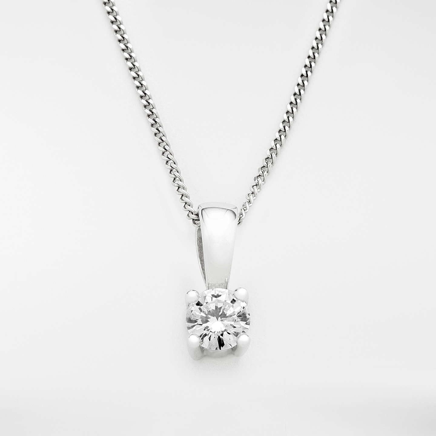 catalog diamond brilliant cut necklace wg