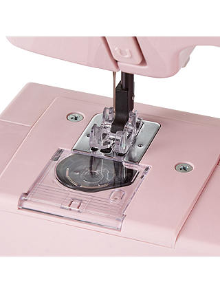 Buy John Lewis & Partners Mini Sewing Machine, Dusty Pink Online at johnlewis.com
