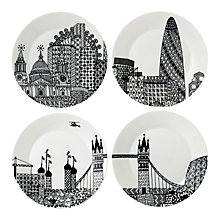 Buy Royal Doulton Charlene Mullen 22cm Plates, Set of 4 Online at johnlewis.com
