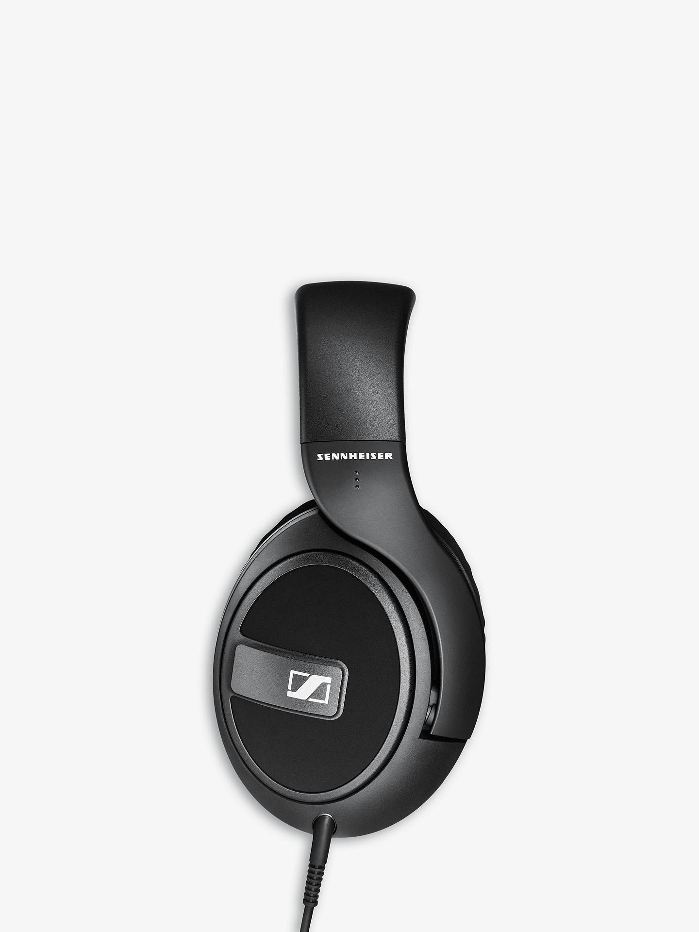 BuySennheiser HD 569 Full Size Headphones with E.A.R. Technology & Inline Microphone & Remote, Black Online at johnlewis.com