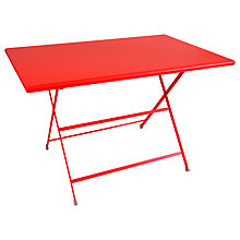 Buy EMU Arcenciel Aluminium Rectangle Table, Chilli Online at johnlewis.com