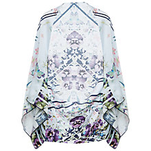 Buy Ted Baker Elva Entangled Enchantment Silk Caped Scarf, Multi/Navy Online at johnlewis.com