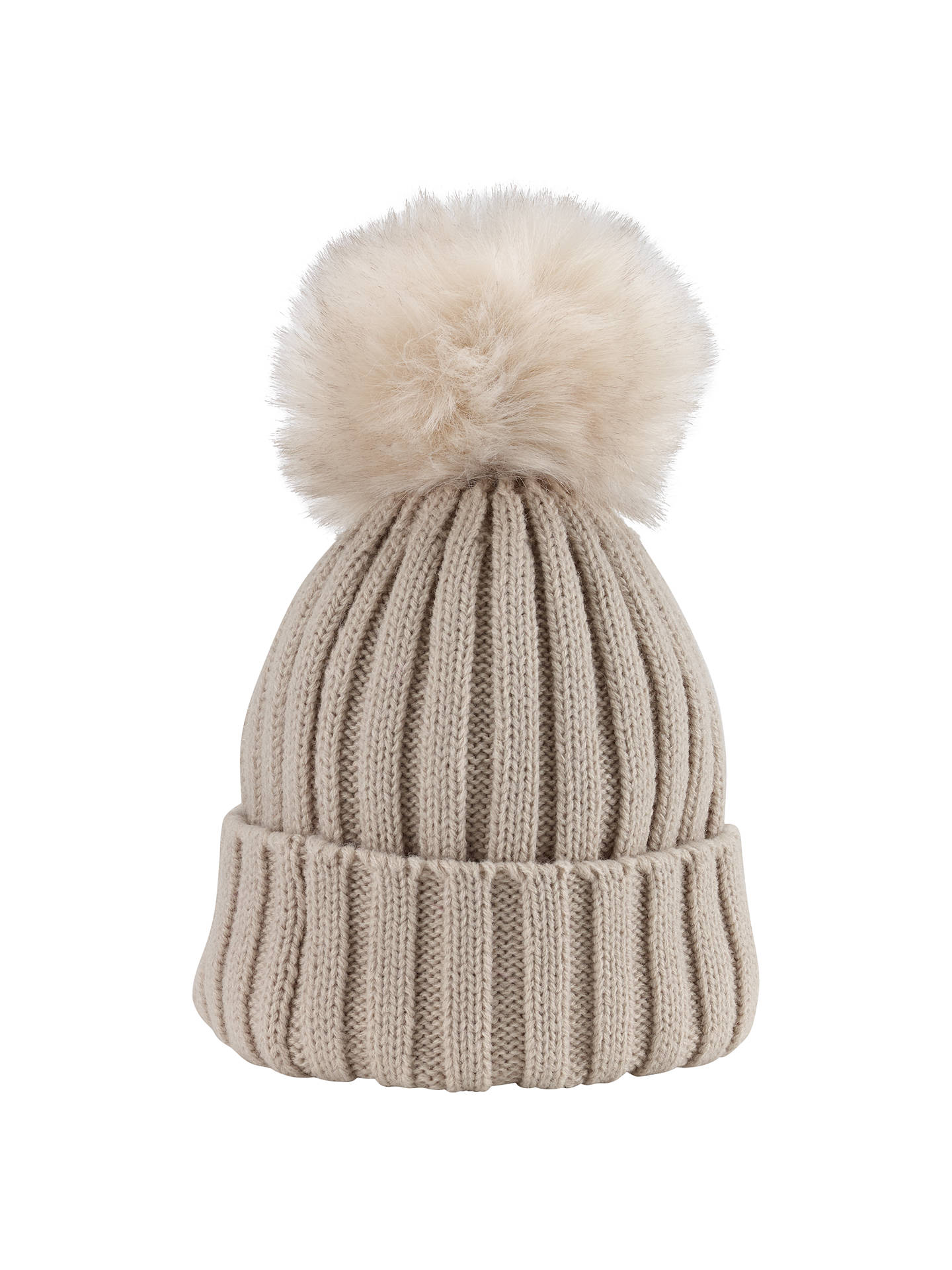d808a6d149a Phase Eight Wool Blend Pom Pom Hat at John Lewis   Partners