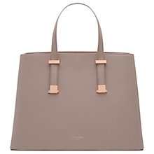 Buy Ted Baker Alissaa Crosshatch Leather Tote Bag Online at johnlewis.com
