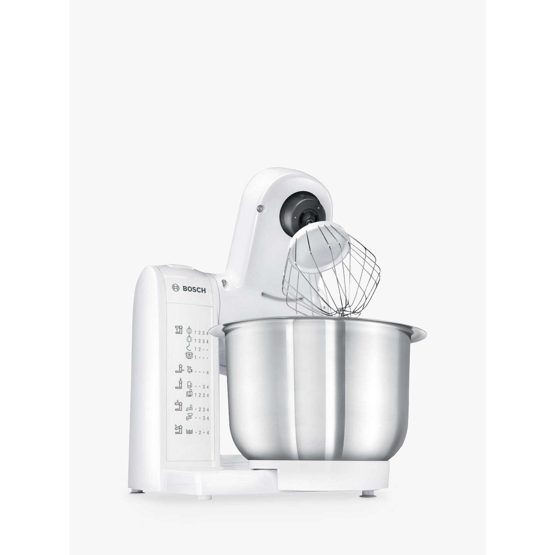 Bosch MUM4807GB Kitchen Food Mixer, White at John Lewis