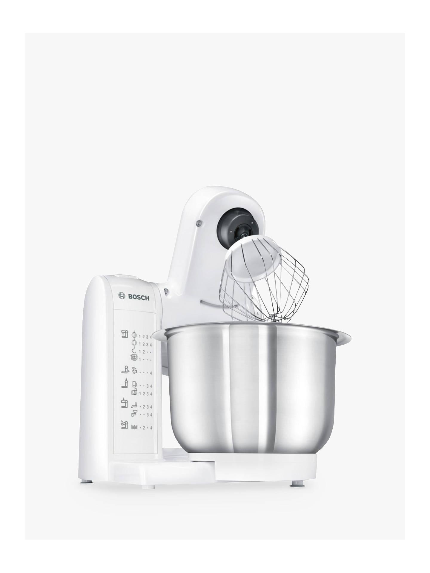 Bosch Mum4807gb Kitchen Food Mixer White