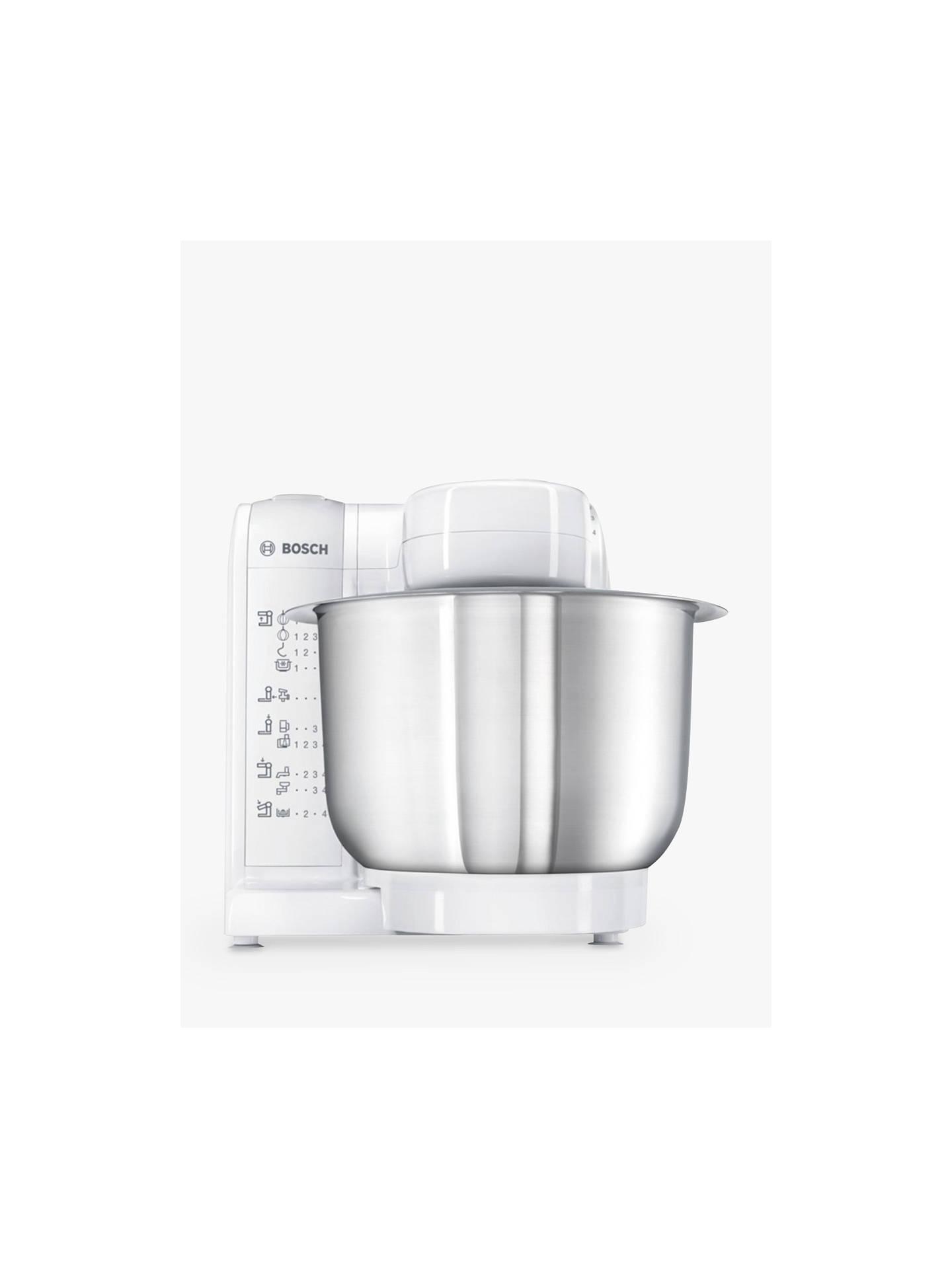 Buybosch mum4807gb kitchen food mixer white online at johnlewis com