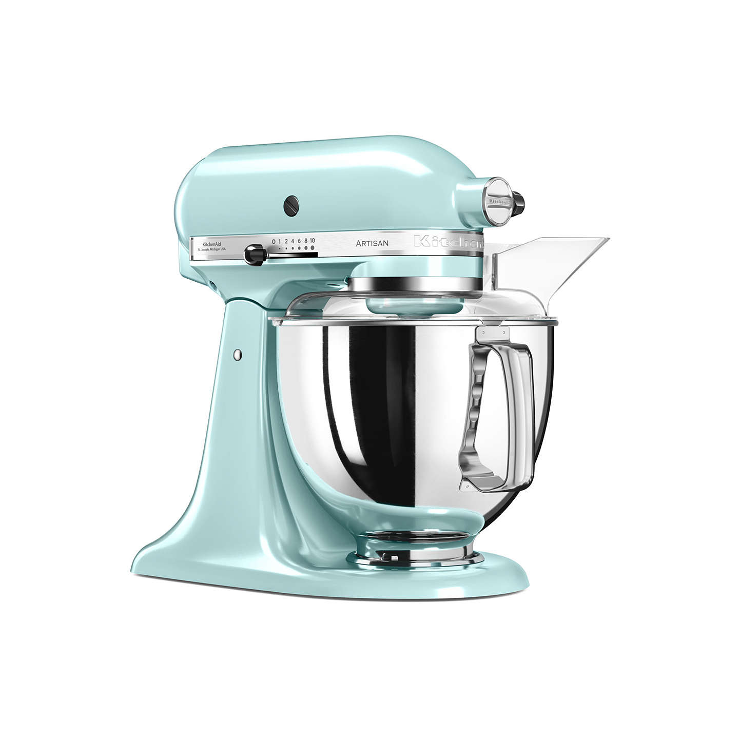 john lewis kitchen accessories kitchenaid 175 artisan 4 8l stand mixer at lewis 4907