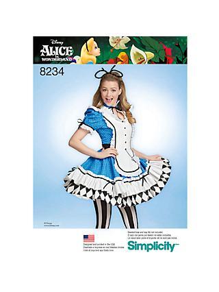 f369e186b735 Simplicity Disney Alice In Wonderland Women s Costume