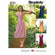 Buy Simplicity Sew House Seven Sewing Pattern, 8231 Online at johnlewis.com