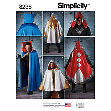 Buy Simplicity Misses' Alice In Wonderland Costume Sewing Pattern, 8237, RS Online at johnlewis.com