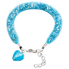 Buy Martick Spacedust Heart Charm Bracelet Online at johnlewis.com