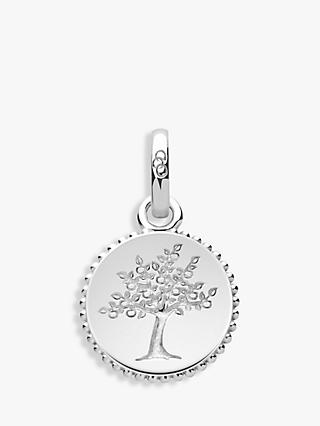 Links of London Amulet Sterling Silver Tree of Life Design Charm, Silver