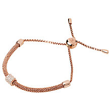 Buy Links of London Starlight Sterling Silver Adjustable Bracelet Online at johnlewis.com