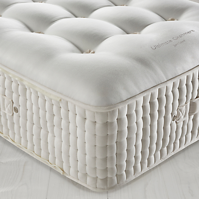 Image of John Lewis The Ultimate Collection Cashmere Pocket Spring Zip Link Mattress, Medium, Emperor