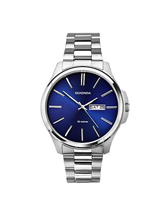 Sekonda Men's Day Date Bracelet Strap Watch