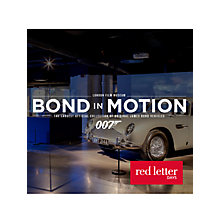 Buy Red Letter Days Bond Exhibition & Meal For Two Online at johnlewis.com