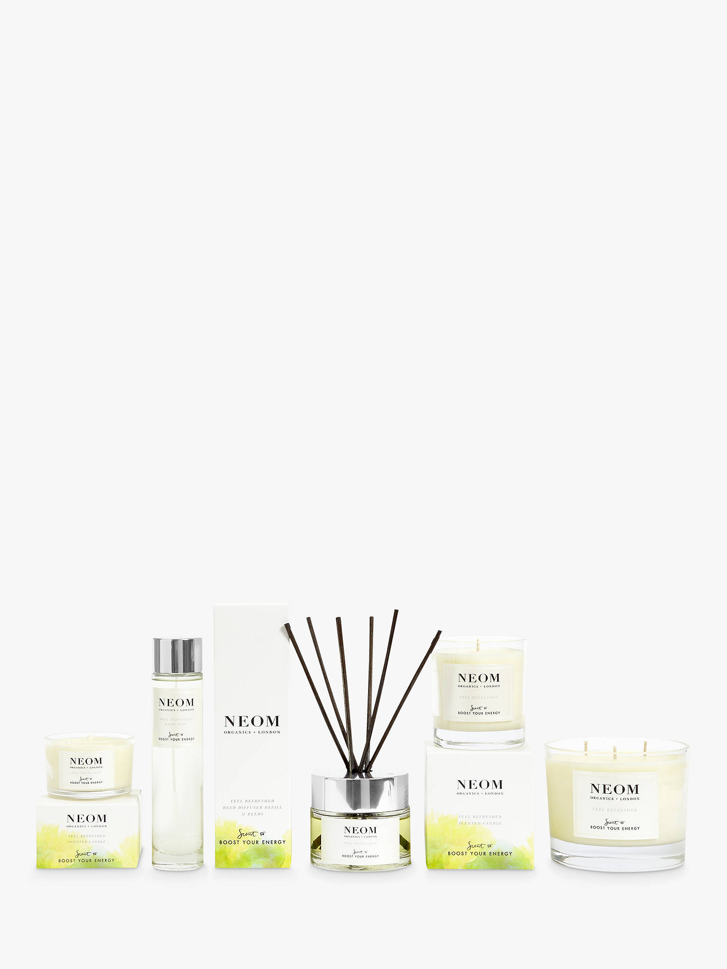 BuyNeom Organics London Feel Refreshed Home Mist Room Spray Online at johnlewis.com