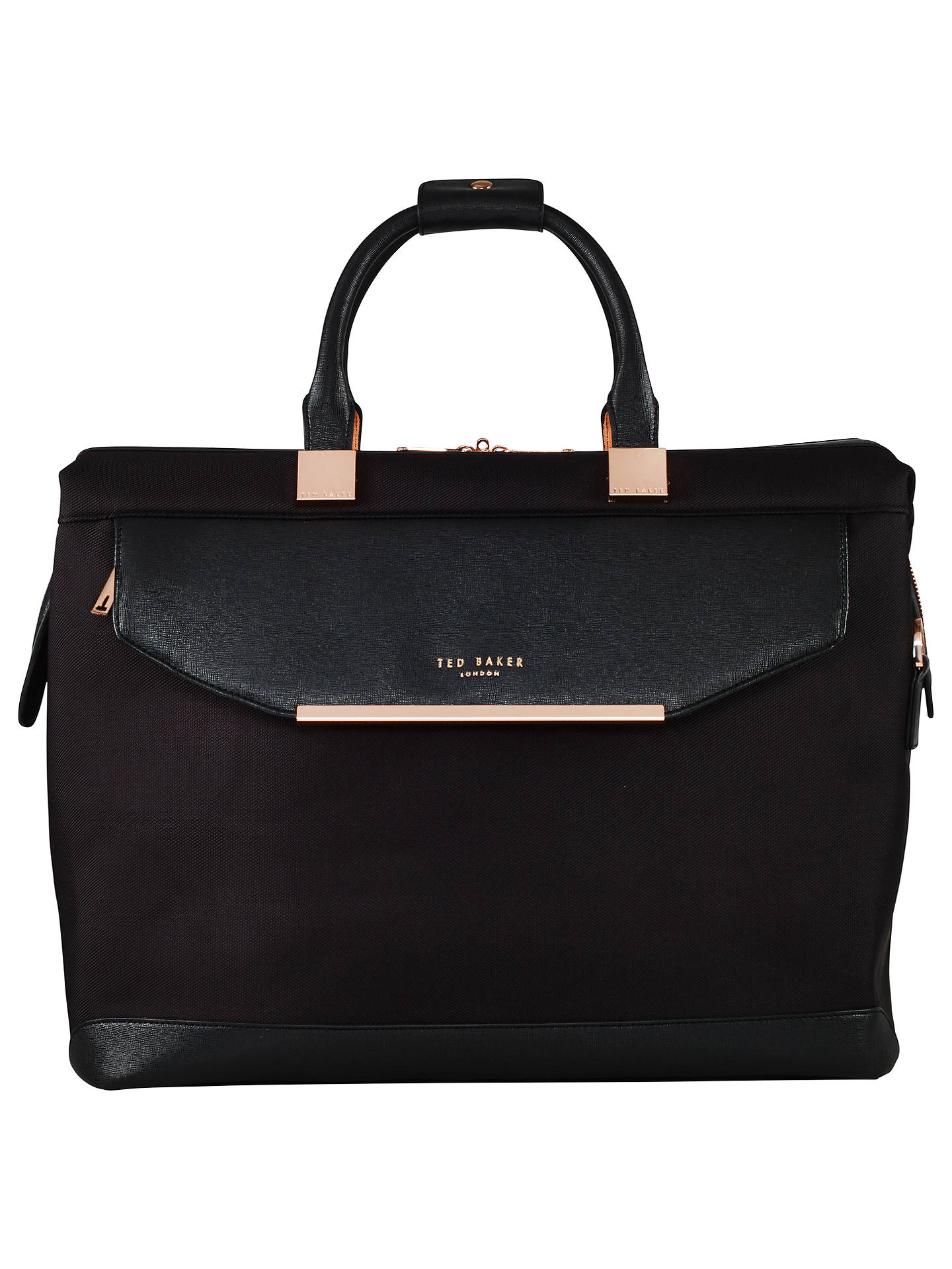 Buy Ted Baker Albany Holdall, Black Online at johnlewis.com