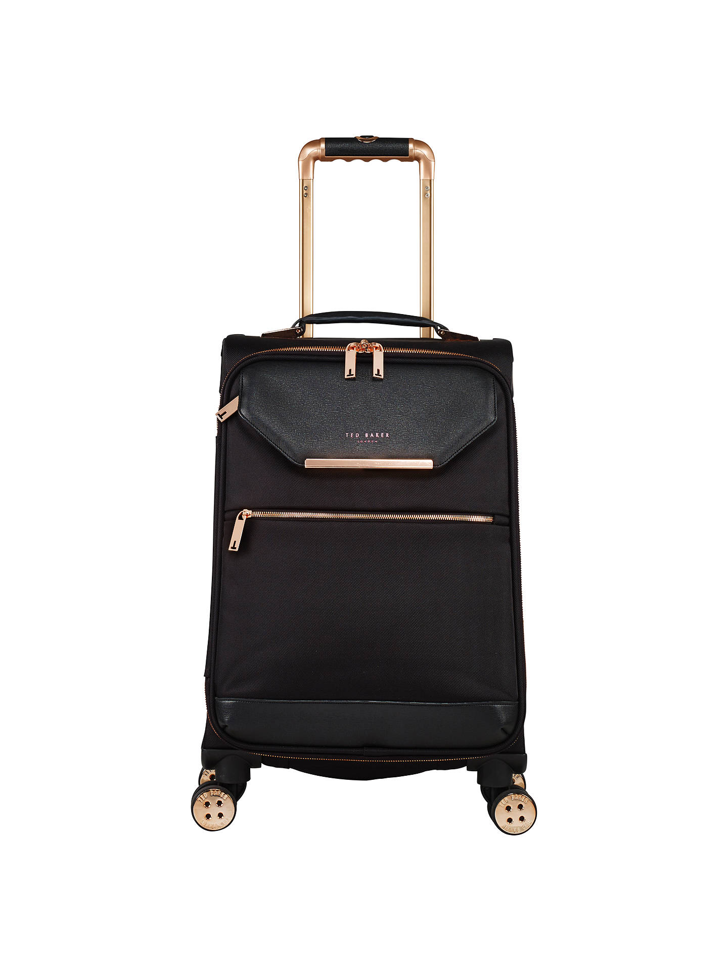 f7f7be89c Ted Baker Soft Albany 56cm 4-Wheel Cabin Case at John Lewis   Partners