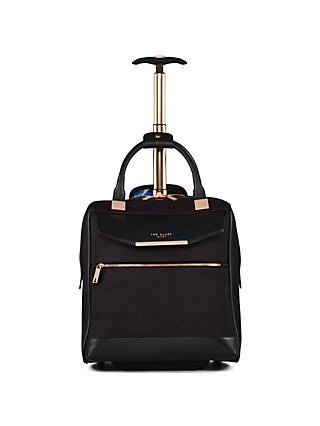 Ted Baker Albany 2-Wheel Business Bag, Black
