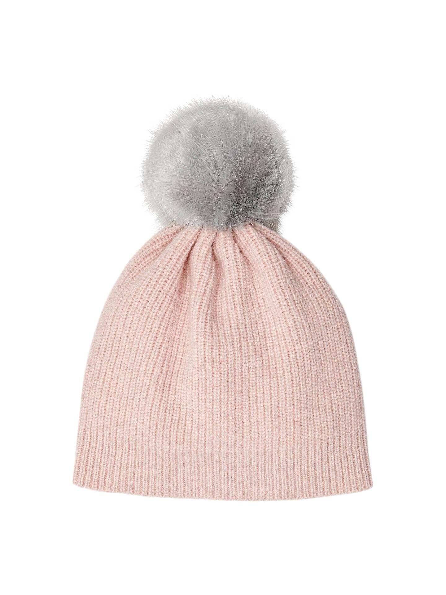 4f4906df7 Jigsaw Girls' Faux Fur Pom Hat, One Size at John Lewis & Partners