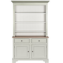Buy Neptune Chichester 4ft Open Rack Dresser, Shingle Online at johnlewis.com